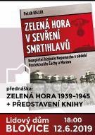 Přednáška Zelená Hora 1939-1945, spojená s představením knihy