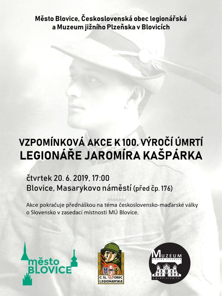 Pietní akt - J. Kašpárek