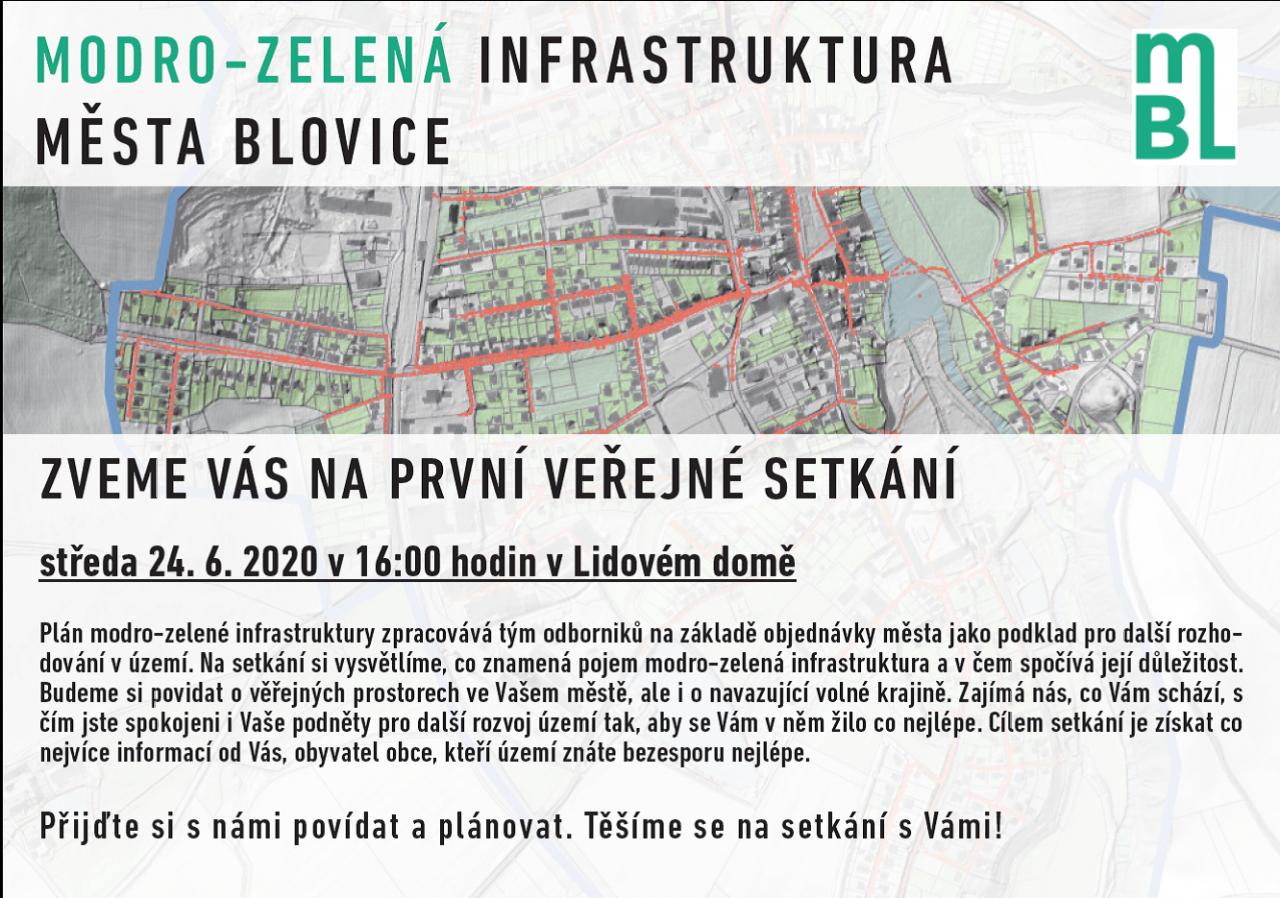 Modro - zelená infrastruktura města Blovice 1